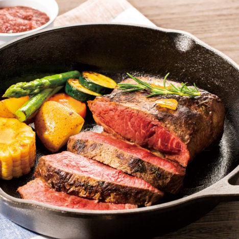 北海道の牛肉で、夏向きの一皿