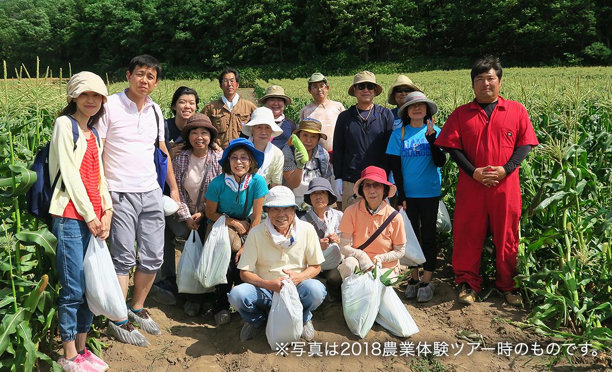 新篠津村で自然満喫!農業体験! 2019年7月27日(土)