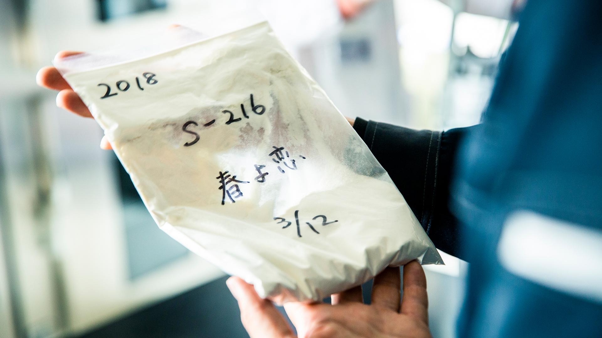 """幻の小麦・ハルユタカの""""子""""麦"""