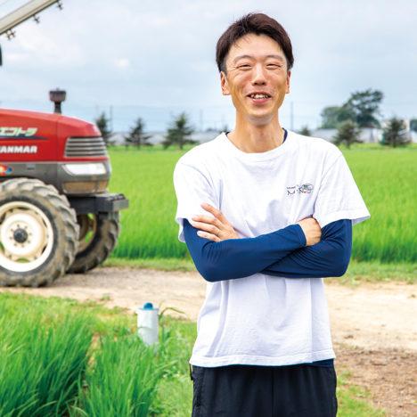 受け継ぐ× 取り組む稲作農家