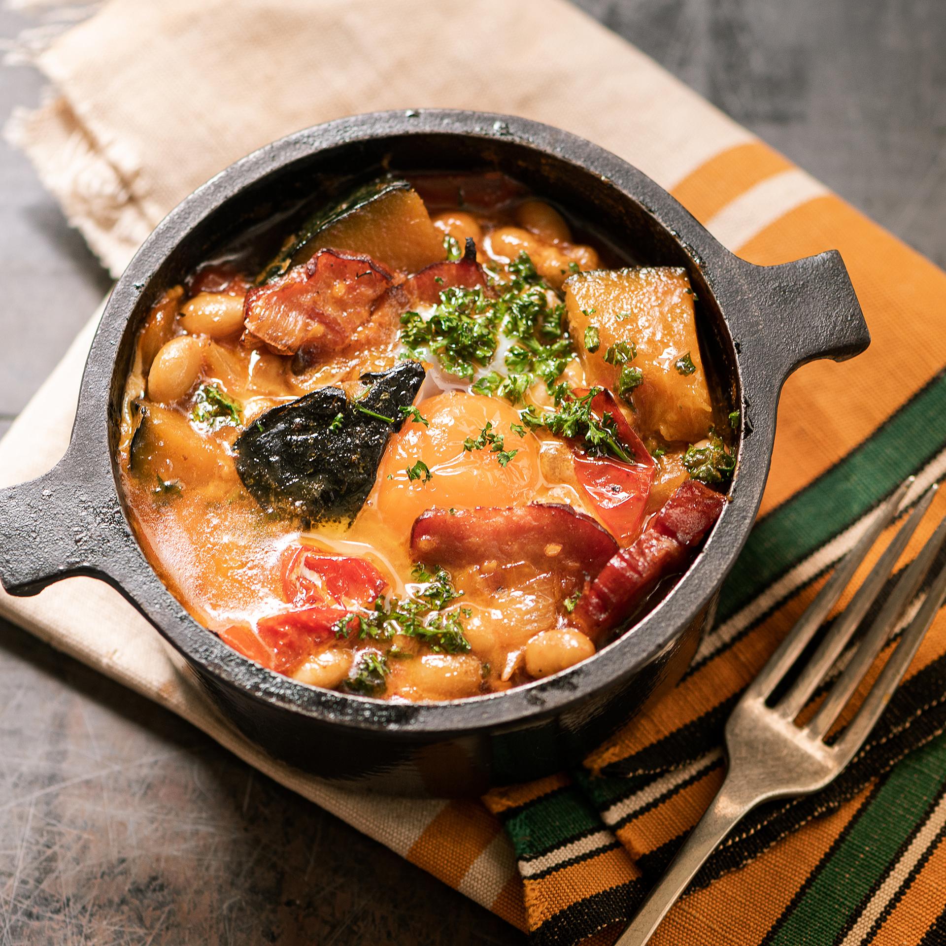 スペイン料理のテイストが新鮮!<br />Vol.8 かぼちゃのラマンチャ風