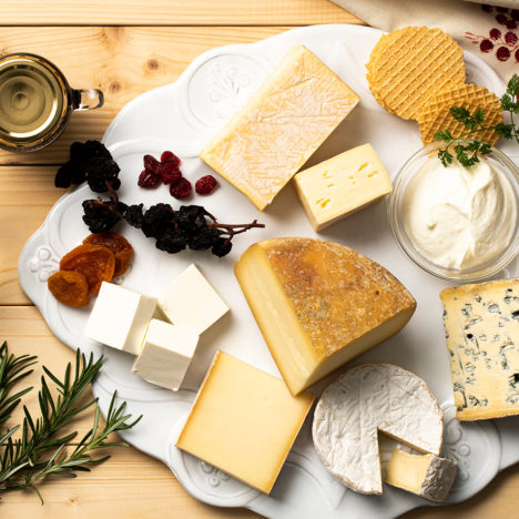 道産の食材と重ねあわせてチーズを楽しむ