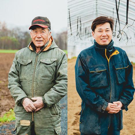 受け継ぐ× 取り組む畑作農家