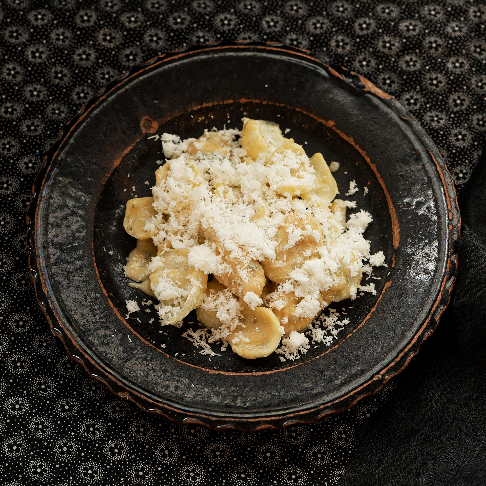 ゆり根を楽しむ、大人テイストの新しい食べ方。<br />Vol.16 ゆり根のブルーチーズソース