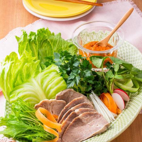 食卓華やぐ、春色レシピ。
