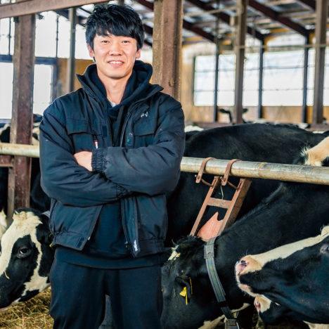 受け継ぐ× 取り組む酪農家