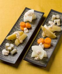 根菜のツナソース