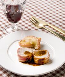 豚ヒレとりんごの鍋ロースト