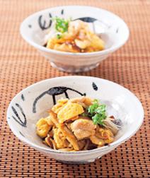 鶏肉と豆腐の和風カレー炒め