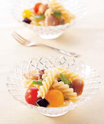 グリル野菜とマカロニのサラダ