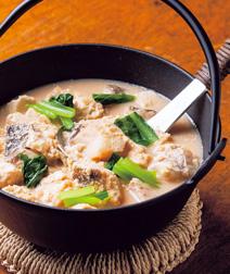 タラと豆腐の呉汁