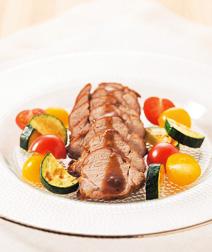 豚ひれ肉のジャム煮