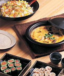 魚介と卵のオーブン焼き