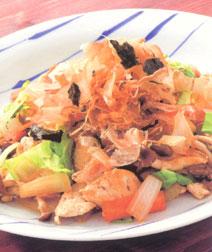 いろいろ野菜と豆腐の炒めもの