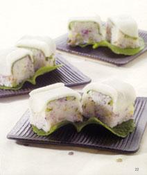 大根の押し寿司