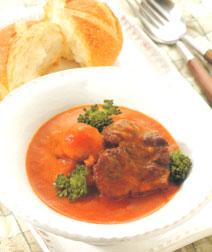 とろとろ野菜のビーフスープ