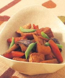 野菜とこんにゃくのみそ煮