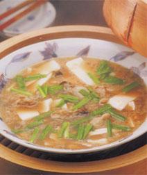 カキと豆腐のオイスターソース蒸し
