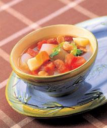 野菜いっぱいスープ