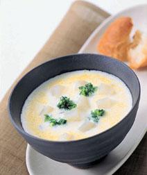かぶのクリームチーズスープ