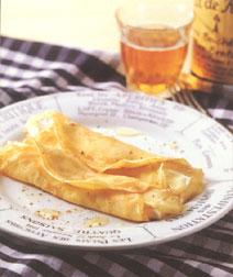 2種のチーズクレープ