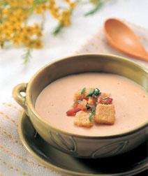 大豆のクリームスープ