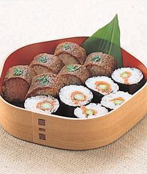 巻き寿司2種