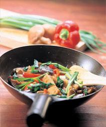 野菜と厚揚げの炒めもの