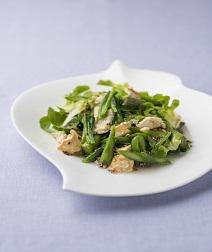 ほうれん草と豆腐のサラダ