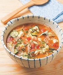 トマト入り冷や汁