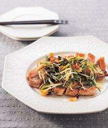豚肉の香り野菜ソース
