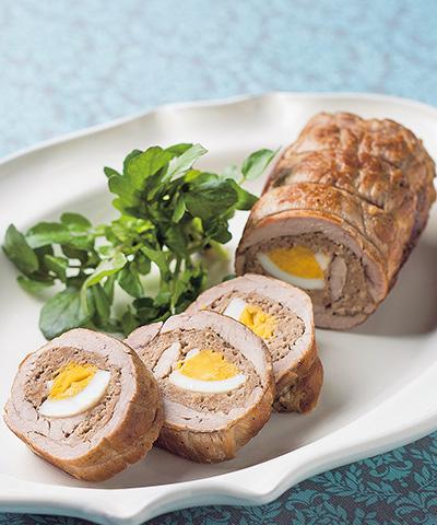 豚肉の卵ロール