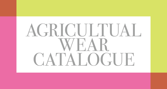 AGRICULTUAL WEAR CATALOGUE