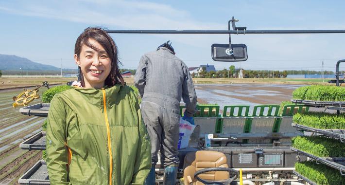 CASE3 農場経営主の妻 濱本 由香さん