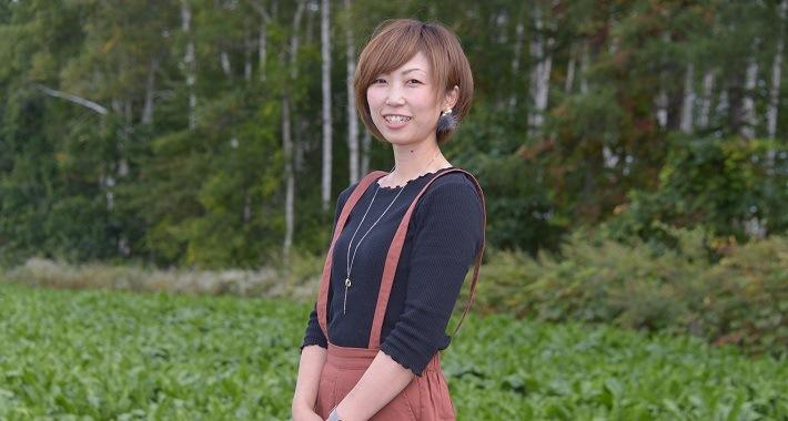 【産地】今月の女子流 JA帯広大正 奥井 由佳さん