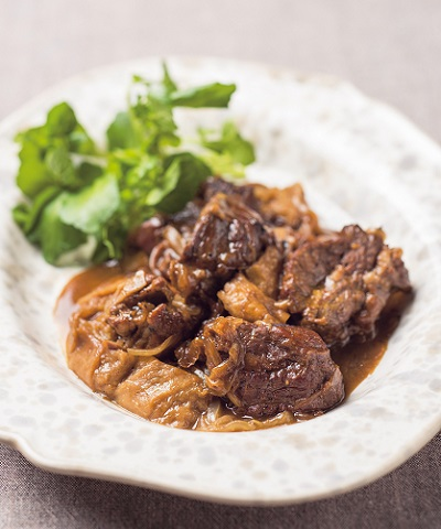 牛肉のマスタード煮
