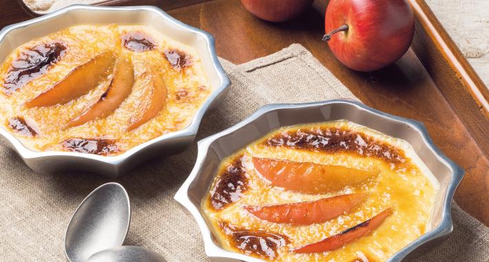りんごのブリュレ