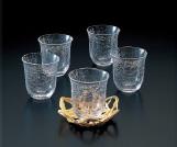 「たち吉」冷茶碗セット(5個) 20名